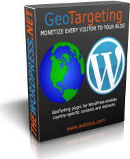 WordPress GeoTargeting Plugin