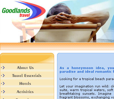 We have developed complete website for Mauritius Tourist Agency, including full-featured content management system and nice website design. CMS allows to maintain the whole website easily. Back-end enables admin to manage hotels, prices, tours, excursions etc.
